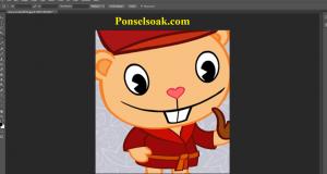Cara Memotong Gambar Di Photoshop 8