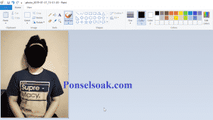 Cara Mengganti Background Foto Di Paint 15