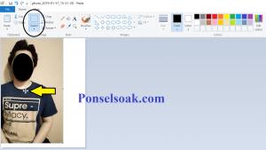 Cara Mengganti Background Foto Di Paint 16