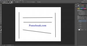 Membuat Garis Di Photoshop Dengan Line Tool 4