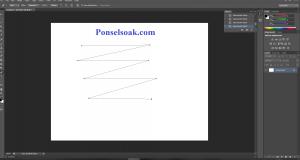 Membuat Garis Di Photoshop Dengan Pen Tool 5