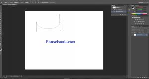 Membuat Garis Lengkung Di Photoshop 2