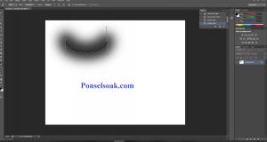 Membuat Garis Lengkung Di Photoshop 3