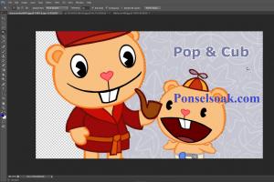 Mengganti Background Menjadi Transparan Di Photoshop 12