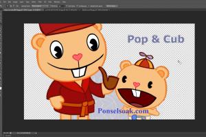 Mengganti Background Menjadi Transparan Di Photoshop 13