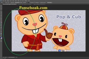 Mengganti Background Menjadi Transparan Di Photoshop 4