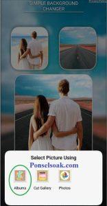 Sekarang edit foto udah bisa menggunakan Smartphone 3+ Cara Mengedit Background Foto Di HP