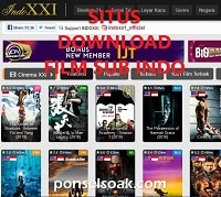 20+ Situs Download Film Sub Indo Terbaik
