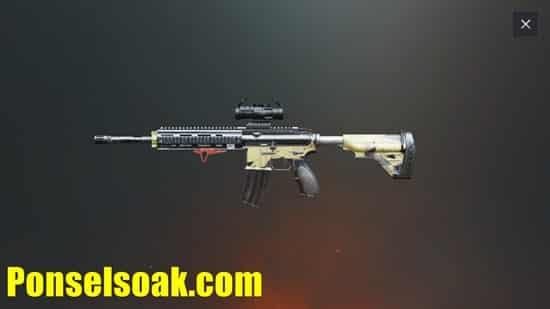 Senjata Assault Rifle PUBG Mobile 4