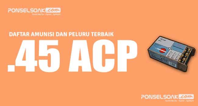 45 ACP Peluru PUBG Mobile