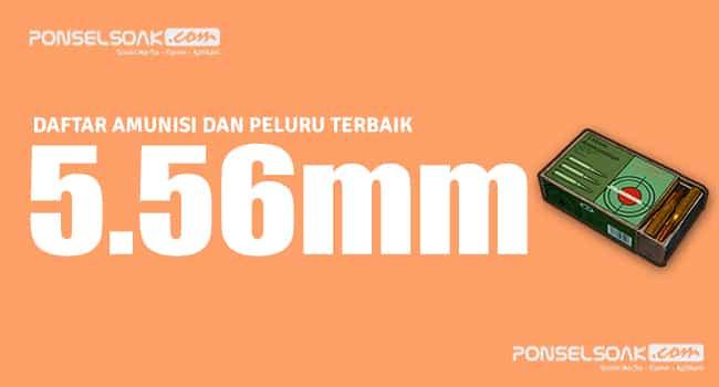 5.56mm Peluru PUBG Mobile