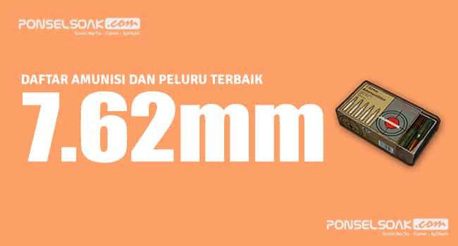 7.62mm Peluru PUBG Mobile