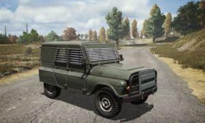 Armored UAZ PUBG Mobile