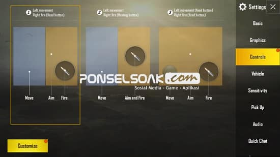 Settingan Controls Terbaik di PUBG Mobile