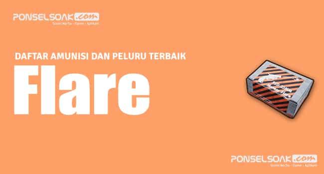 Flare Peluru PUBG Mobile