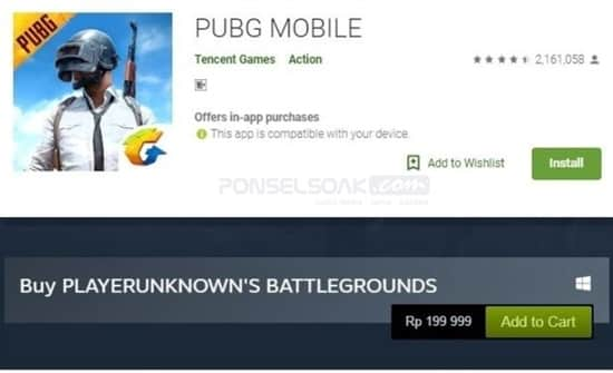 PUBG Steam VS Pubg Mobile Emulator