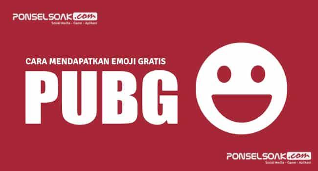 Emoji PUBG Mobile Gratis