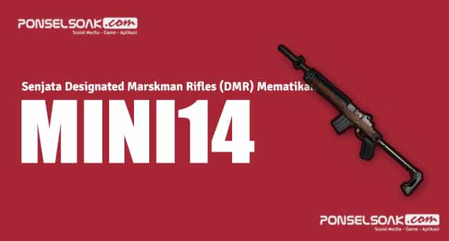 Senjata Tembak Designated Marskman Rifles  6+ Senjata Designated Marskman Rifles (DMR) Mematikan di PUBG Mobile
