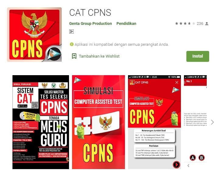 Cat CPNS Online