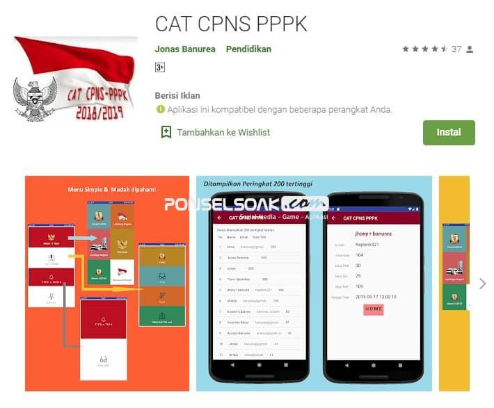 Cat CPNS PPPK Offline