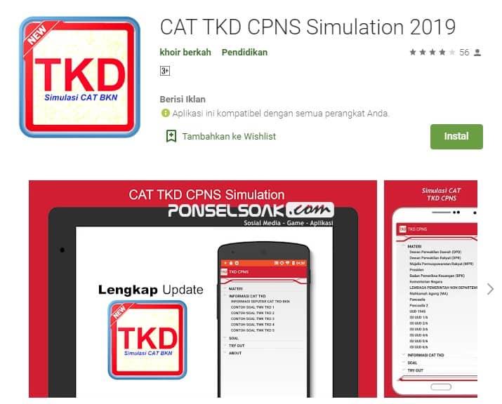 Cat CPNS Terbaru 2019 Cat CPNS 2019 Offline 1