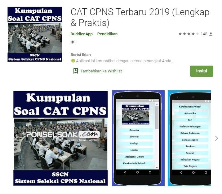 Cat CPNS Terbaru 2019 Lengkap Praktis Offline
