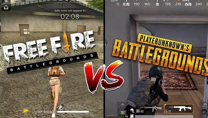 Perbedaan PUBG vs Freefire