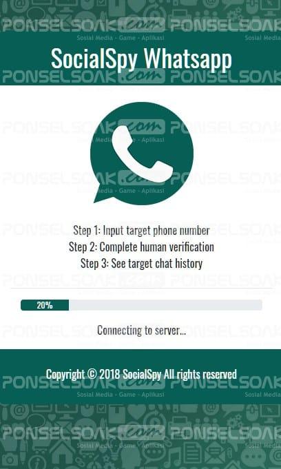 Sadap Whatsapp Menggunakan Social Spy Whatsapp