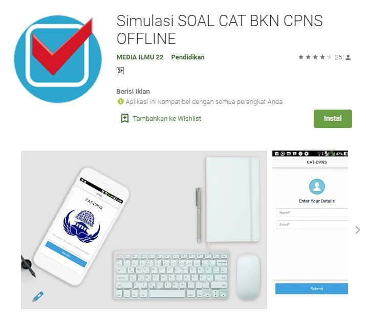 Simulasi Soal Cat BKN CPNS Offline