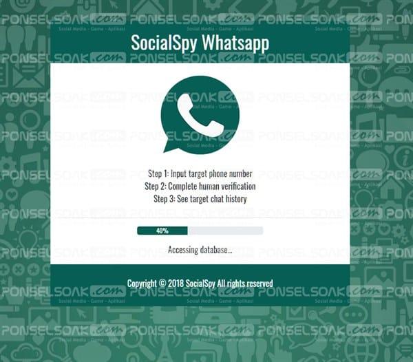 SocialSpy Whatsapp Tool