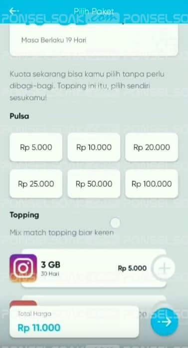 Cara Beli Kartu By.U Telkomsel Terbaru dengan Topping