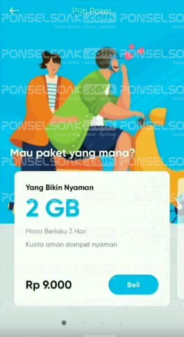 Cara Beli Kartu By.U Telkomsel Terbaru