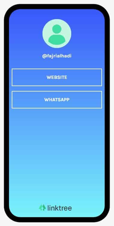 Cara Membuat Link WhatsApp di Linktree