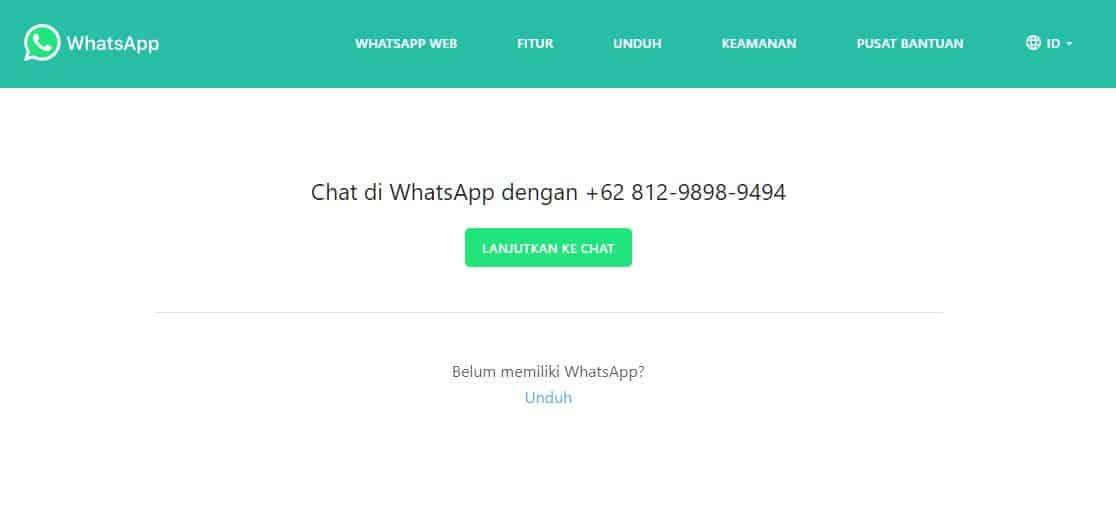 Cara Menggunakan Api Whatsapp